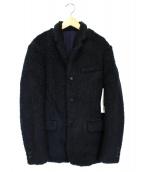 UNDERCOVER(アンダーカバー)の古着「ボアジャケット」 ネイビー