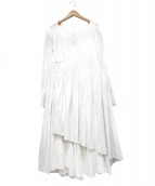 merlette(マーレット)の古着「ボリュームワンピース」|ホワイト
