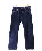 SAMURAI JEANS(サムライジーンズ)の古着「セルビッジデニムパンツ」|インディゴ