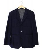 BURBERRY BLACK LABEL(バーバリーブラックレーベル)の古着「ウールメルトンサファリジャケット」