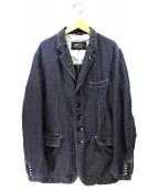 COMME des GARCONS HOMME DEUX(コムデギャルソンオムドゥ)の古着「ウールポリ5Bジャケット」