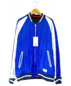 WACKO MARIA(ワコマリア)の古着「リバーシブルスカシジャケット」 ブルー×ブラック