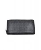 BOSS HUGO BOSS(ボス ヒューゴ ボス)の古着「ラウンドファスナー財布」|ブラック