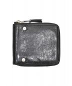BALENCIAGA(バレンシアガ)の古着「2つ折り財布」|ブラック