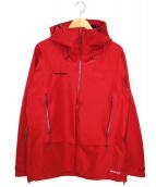 MAMMUT(マムート)の古着「アルパインガイドHSジャケット」|レッド