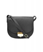 CELINE(セリーヌ)の古着「トロッターコンパクトミディアムショルダーバッグ」|ブラック