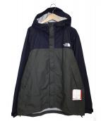 THE NORTH FACE(ザノースフェイス)の古着「ドットショットジャケット」|ブラック×オリーブ