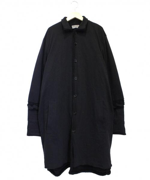 Yohji Yamamoto pour homme(ヨウジヤマモトプールオム)Yohji Yamamoto pour homme ローゲージボタンアップロングカーディガン ブラック サイズ:3 HR-K72-180 Low Gauge Button Up Long Cardiganの古着・服飾アイテム