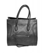 CELINE(セリーヌ)の古着「ラゲージファントムショッパートートバッグ」|ブラック