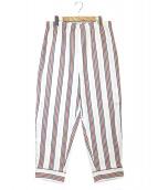 doublet(ダブレット)の古着「ジャガードパジャマパンツ」|ホワイト
