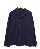 45R(フォーティファイブアール)の古着「インディゴシーツクロスジャケット」 インディゴ