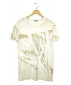 Dior Homme(ディオールオム)の古着「プリントTシャツ」|ベージュ