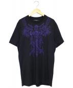 GIVENCHY(ジバンシィ)の古着「マーメイドカオスTシャツ」|ブラック