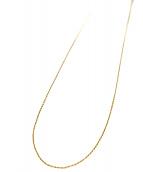 K18ネックレス(K18ネックレス)の古着「K18ネックレス」|ゴールド