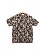 THE REAL McCOYS(リアルマッコイズ)の古着「アロハシャツ」|ブラウン