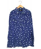 RRL(ダブルアールエル)の古着「ウエスタンスターシャツ」|インディゴ