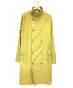 LEMAIRE(ルメール)の古着「スタンドカラーコート」|イエロー
