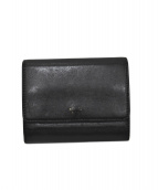 CELINE(セリーヌ)の古着「2つ折り財布」|ブラック