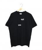 Supreme×COMME des GARCONS SHIRT(シュプリーム × コムデギャルソンシャツ)の古着「スプリットボックスロゴTee」 ブラック