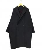 YANTOR(ヤントル)の古着「グログランドルマンコート」 ブラック