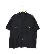 Porter Classic(ポータークラシック)の古着「ケルアックシャツ」|ブラック