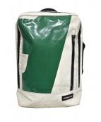 FREITAG(フライターグ)の古着「デイパック」|ホワイト×グリーン