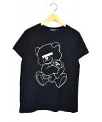 UNDERCOVER(アンダーカバー)の古着「モザイクTシャツ」|ブラック