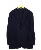 BOGLIOLI(ボリオリ)の古着「3Bアンコンジャケット」|ネイビー