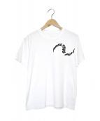 sacai(サカイ)の古着「メルティングポットT」|ホワイト