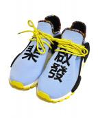 adidas×PHARRELL WILLIAMS(アディダス×ファレル・ウィリアムス)の古着「ソーラーヒューノマド」|ブルー