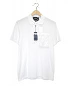 FRED PERRY × RAF SIMONS(フレッドペリー×ラフシモンズ)の古着「ポロシャツ」|ホワイト