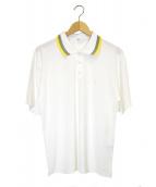 TOGA VIRILIS(トーガヴィリリース)の古着「ダブルクロスポロシャツ」|ホワイト