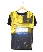 MM6(エムエムシックス)の古着「転写プリントTシャツ」|ブラック