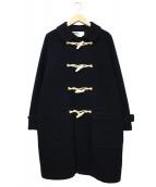 MHL.(エムエイチエル)の古着「ダッフルコート」|ブラック