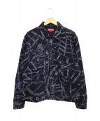 Supreme(シュプリーム)の古着「ゴンズマップワークジャケット」|ブラック