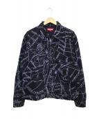 Supreme(シュプリーム)の古着「ゴンズマップワークジャケット」 ブラック