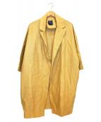 GALLEGO DESPORTES(ギャレゴデスポート)の古着「キャンバスコート」|ベージュ
