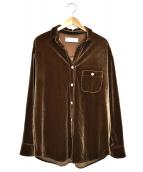 TODAYFUL(トゥデイフル)の古着「ラフベロアシャツ」|ブラウン