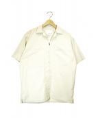 nanamica × PILGRIM SURF+SUPPLY(ナナミカ×ピルグリム サーフ+サプライ)の古着「S/Sジップアップシャツ」|ベージュ