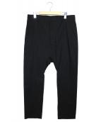 BALMAIN(バルマン)の古着「サルエルパンツ」|ブラック