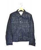 KATO(カトー)の古着「ファーストデニムジャケット」|インディゴ