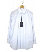 PRADA(プラダ)の古着「ドレスシャツ」|ブルー