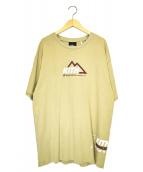 KITH(キス)の古着「アスペンロゴTシャツ」|ベージュ