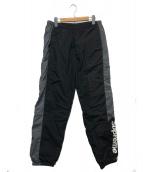 Supreme(シュプリーム)の古着「サイドロゴトラックパンツ」|ブラック