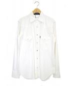 MADISON BLUE(マディソンブルー)の古着「ウエスタンシャツ」|ホワイト