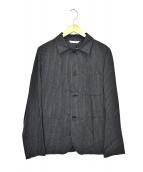 ()の古着「4Bストライプジャケット」|ブラック