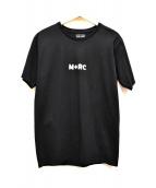 M+RC NOIR(マルシェノア)の古着「プリントTシャツ」 ブラック