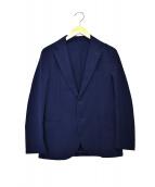 MACKINTOSH PHILOSOPHY(マッキントッシュフィロソフィー)の古着「2WAYストレッチタフタライトウェイトジャケット」|ネイビー