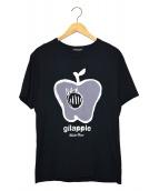 UNDERCOVER(アンダーカバー)の古着「ギップルプリントT」 ブラック
