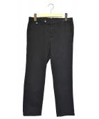 PT01(ピーティーゼロウーノ)の古着「テーパードパンツ」|ブラック